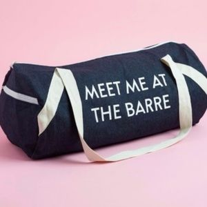 Meet Me At the Barre - Pure Barre Duffel Bag